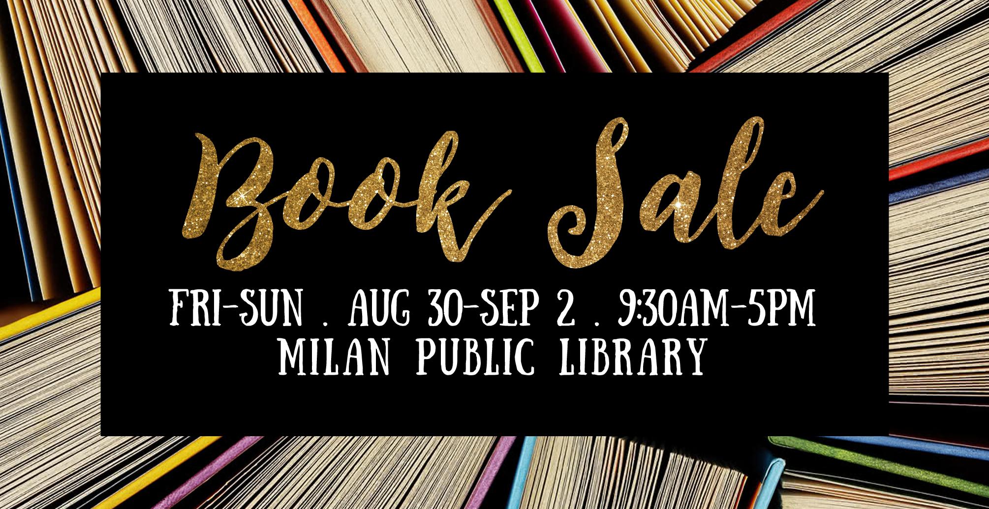 2018-08-LIBRARY-Milan-Book-Sale-Slide